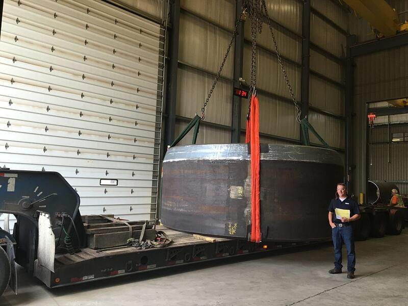 Heavy Cylinder Shipping