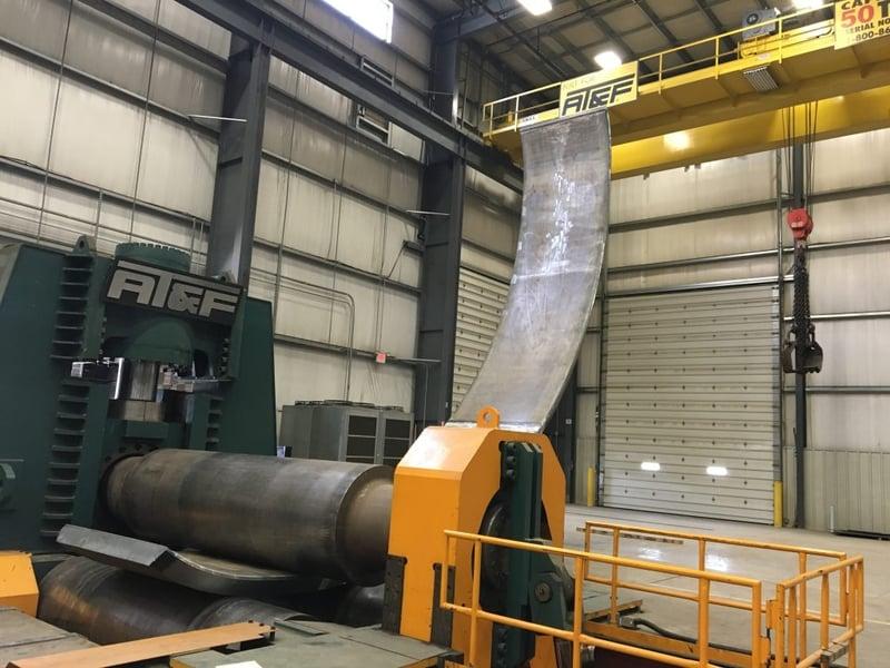 Large Cylinder Rolling