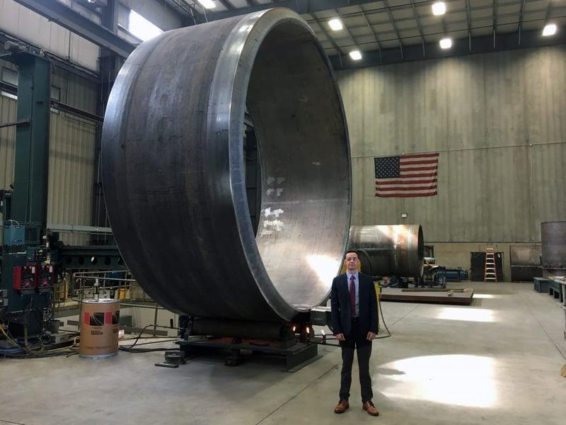 Large Rolled Cylinder 2