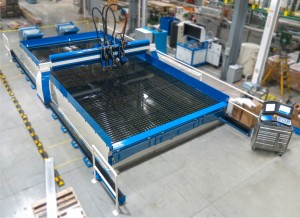 AT&F's new 5-axis water jet cutter adds complex cutting ability for a variety of customer materials