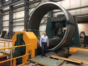From the Floor - Thick Cylinder Rolling