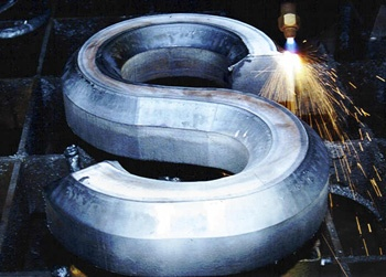AT&F Steel Offers Enhanced Precision Contour Beveling