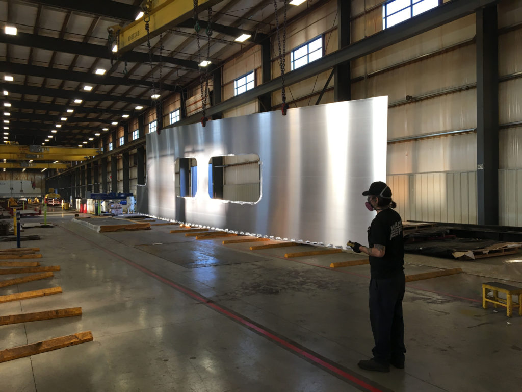 From the Floor: Aluminum Railcar Siding