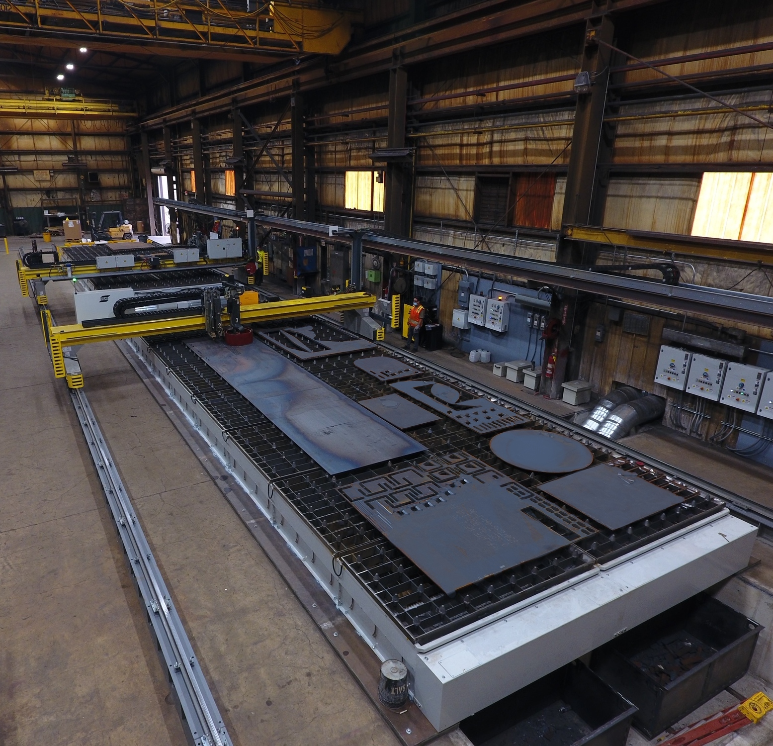 Steel Fabricator AT&F Installs Massive 5-Axis Cutting System
