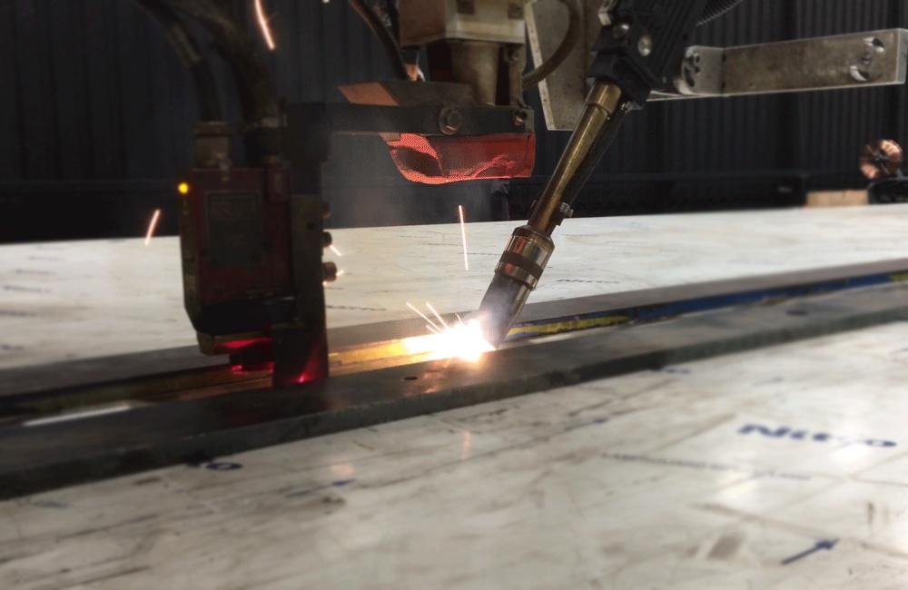 How Hybrid Laser Welding is Making Cranes Stronger